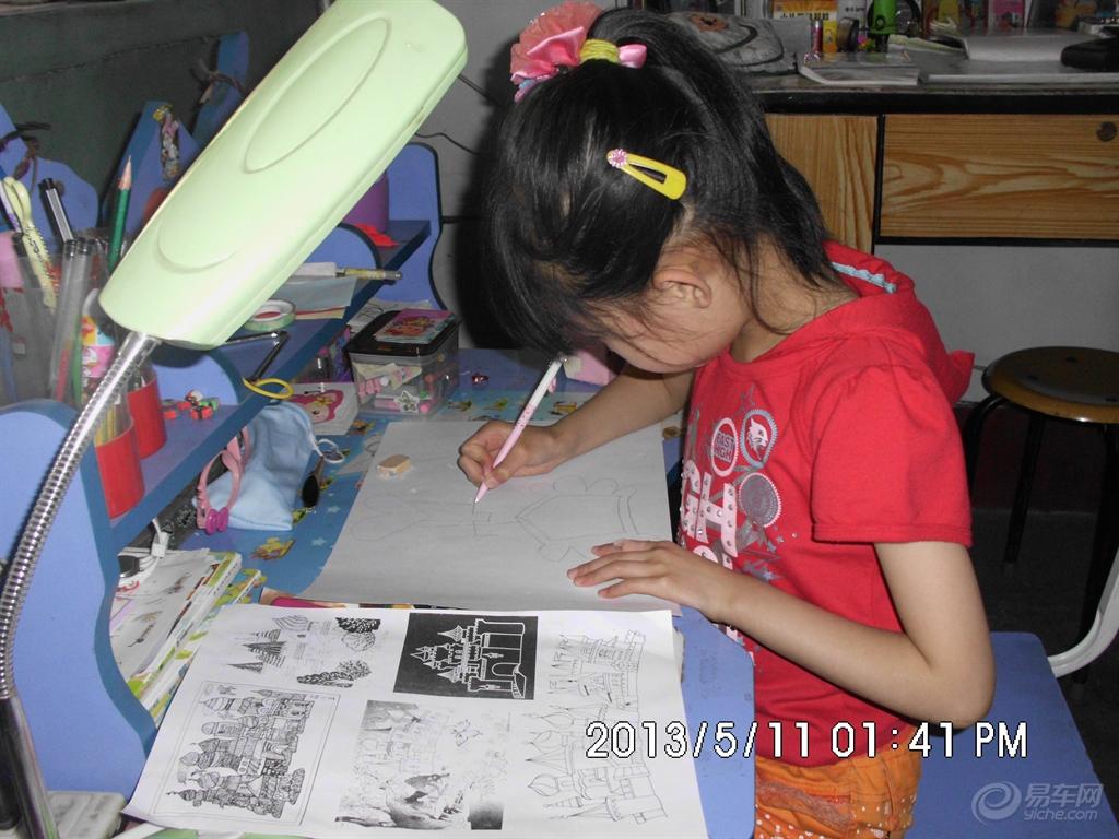 11宝贝画糖果城堡 绘画图片