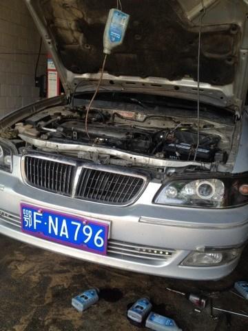 我蓝鸟车,02年的,烧机油,打火非常困难,然后开个几十分钟高清图片