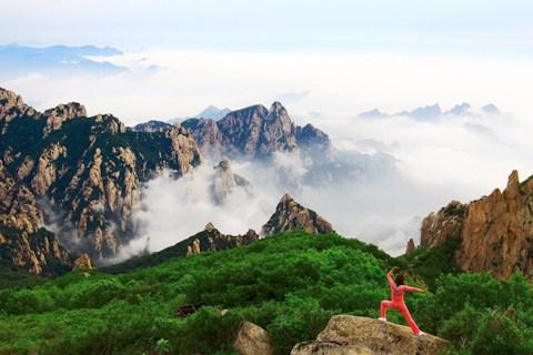 这次,我们一行驴友来到了秦皇岛祖山.