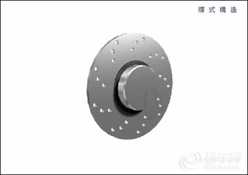【碟(盘)式刹车的结构示意_机械原理和汽车知识_浏览