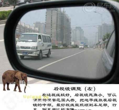 【图】倒车镜使用图解_福瑞迪论坛-易车网社区! - 大叶树 - 大叶树的博客