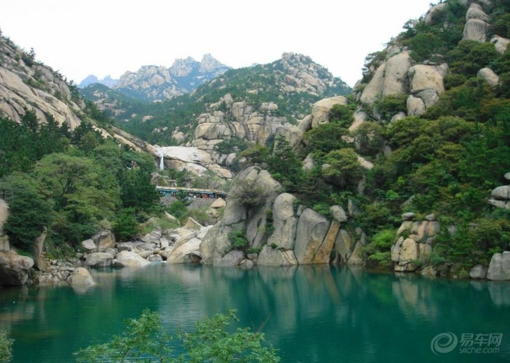 青岛北九水风景照片