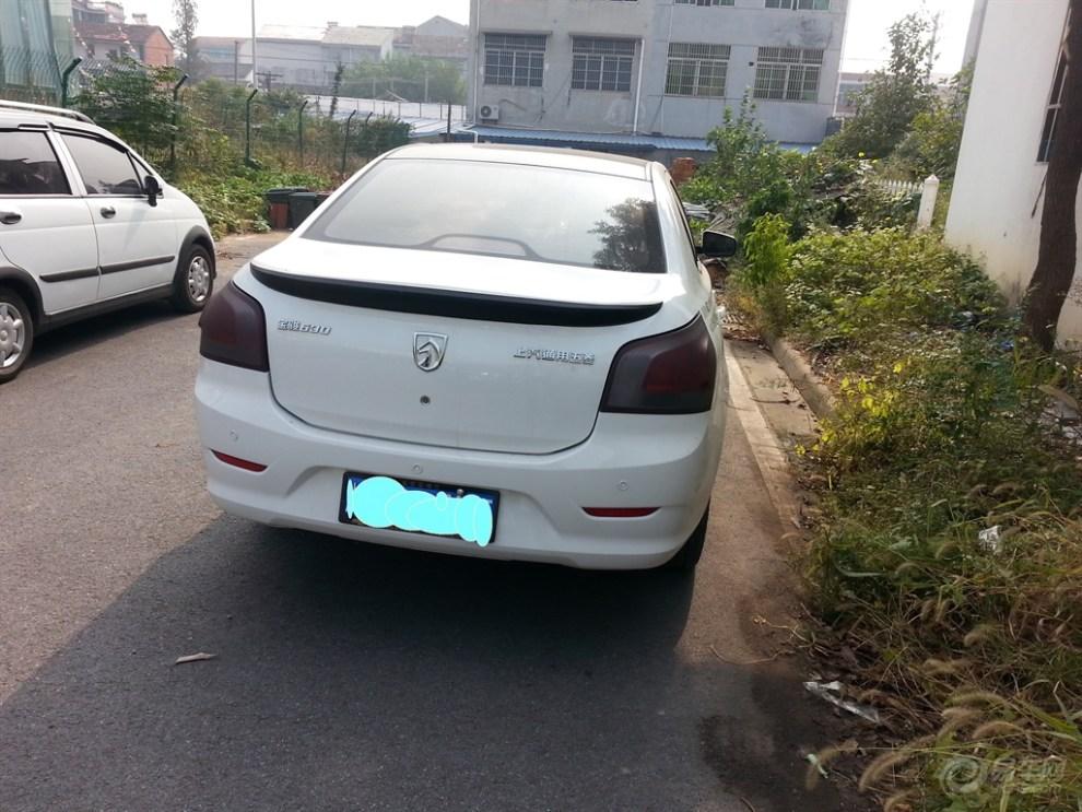 差没装 车子新加装了尾翼和拉花 -宝骏汽车论坛图片集锦高清图片