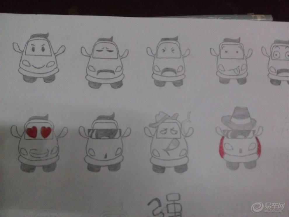 【【认识易车表情】易哀乐的檄表情】_四川对小弟包的手绘议论文图片