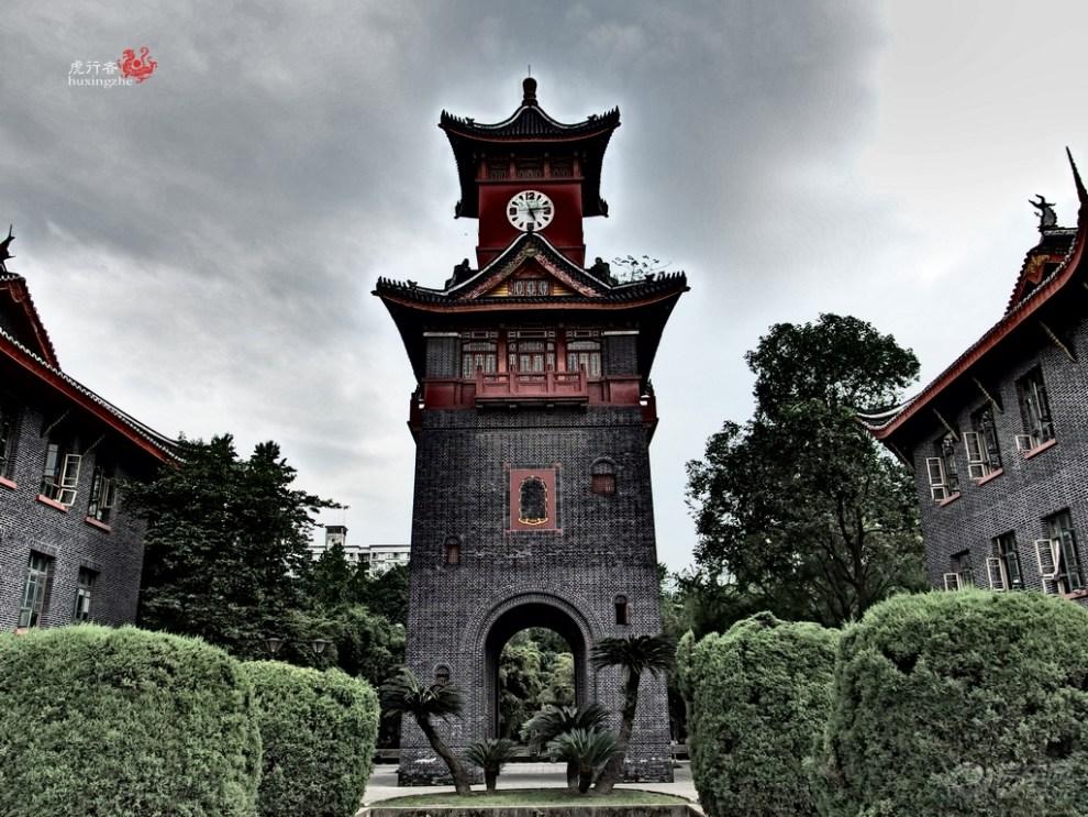 【古建筑摄影】成都华西坝老建筑