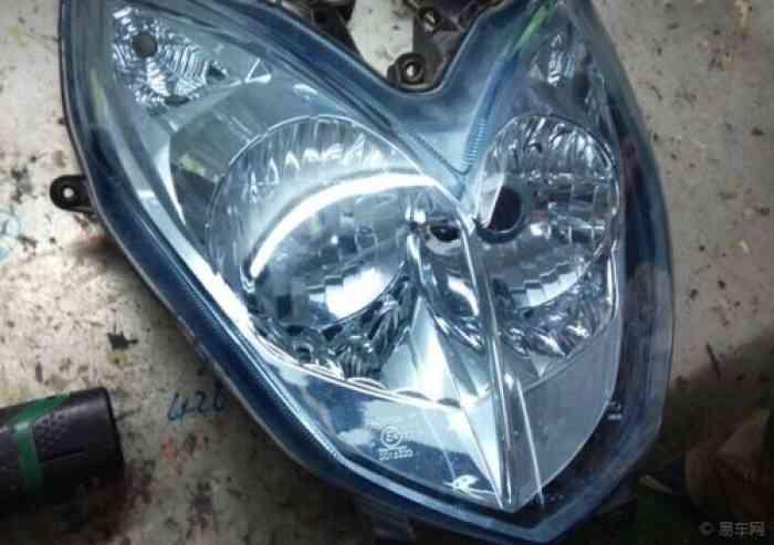 摩托车改灯 弯道情人升级14款奥迪q5双光透镜