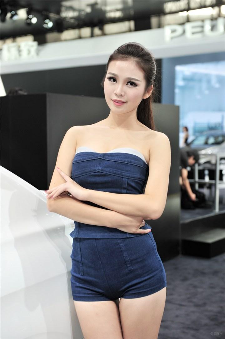 【【2014广州车展】美女模特之二十二】
