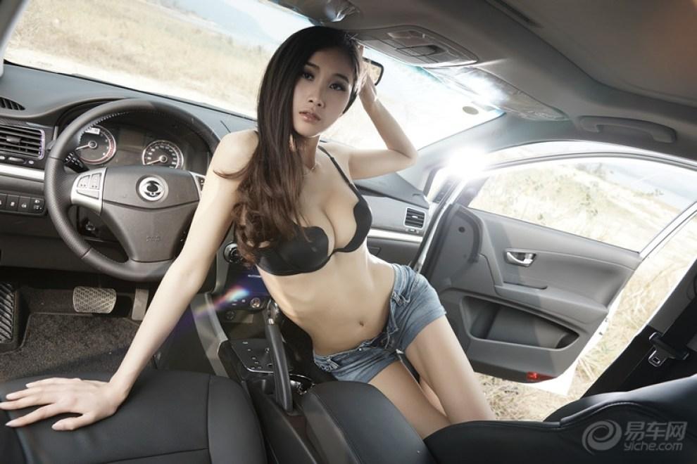 【美女亮车】 河南论坛图片集锦 汽车论坛