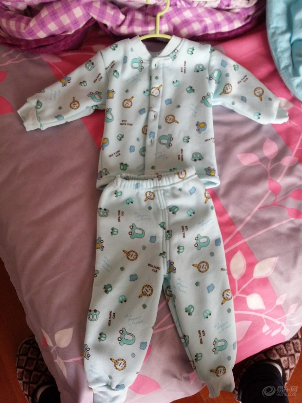 【提前帮未出生的宝宝买好衣服,洗后整理好,静