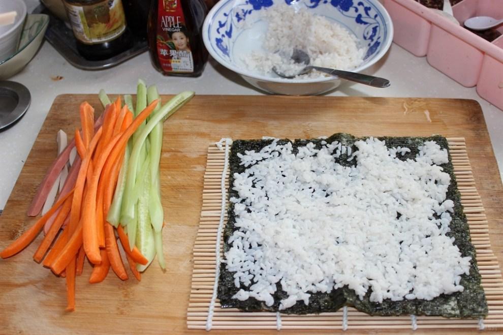 【美味日志】自己做寿司