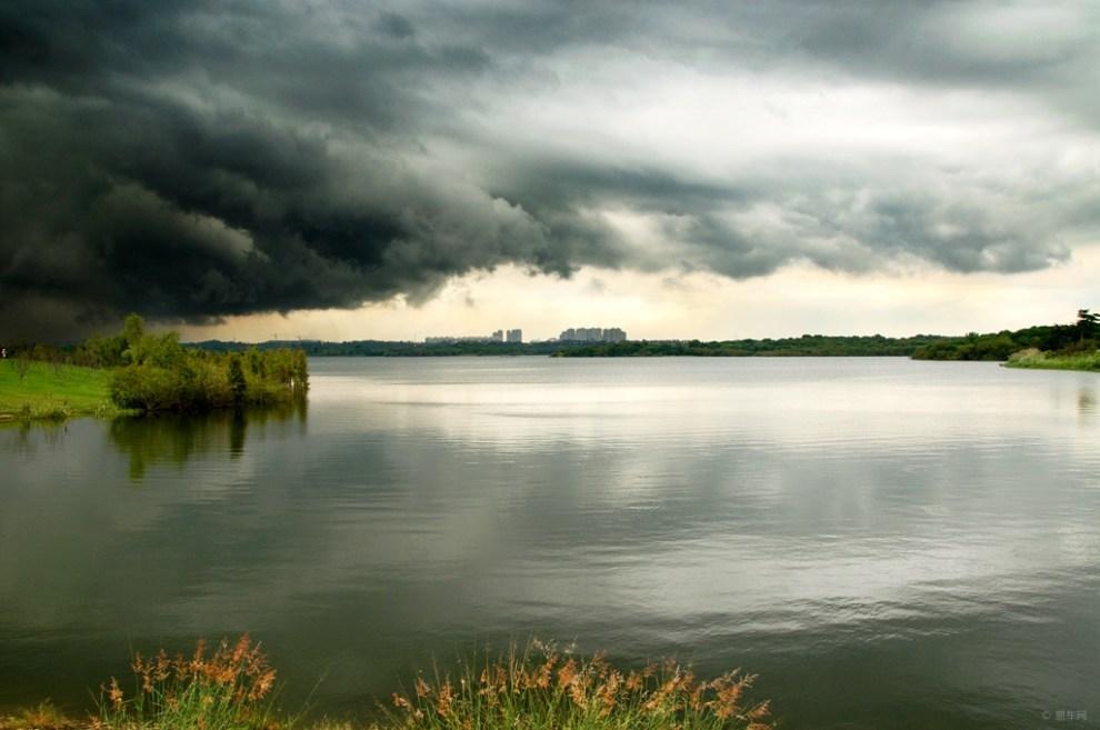 【【每周一图】第五十六期 湖上风云】_摄影论