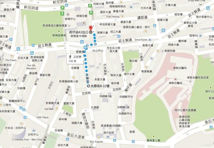 香港车模店分布图