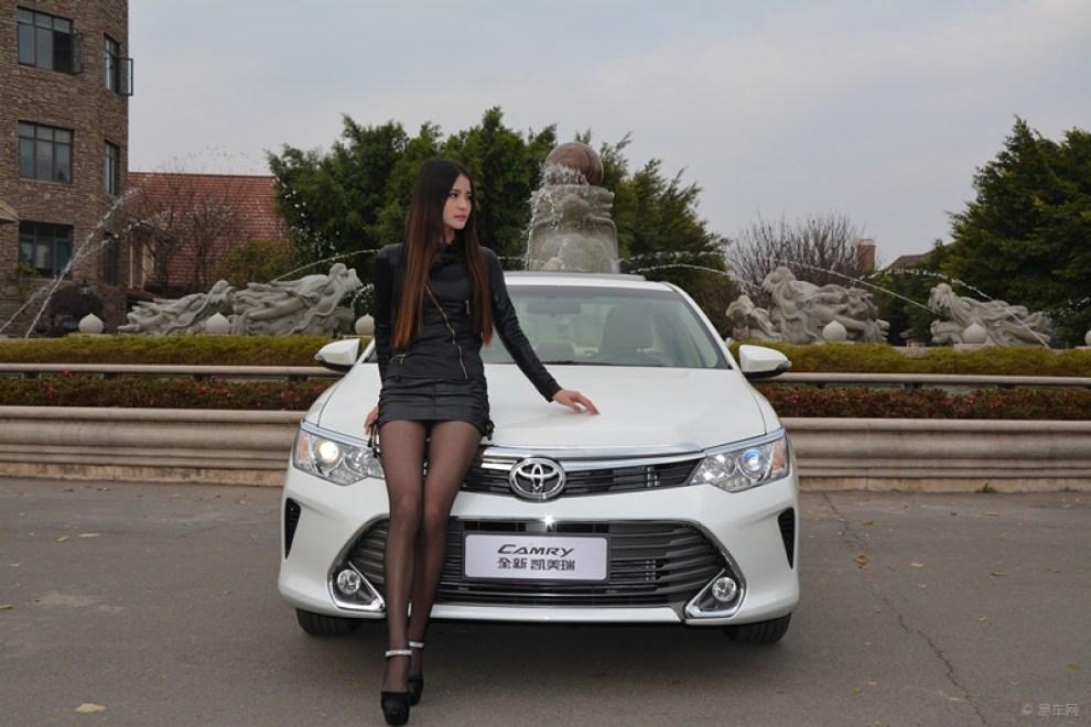 【全新凯美瑞和他的美女车模】 江西论坛图片