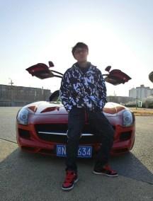鸥翼门超跑奔驰SLS AMG用车作业!
