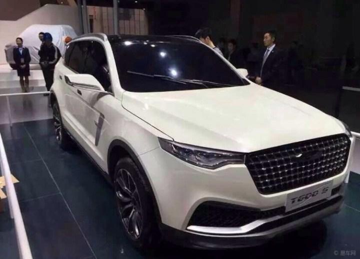 上海车展的t600s确实帅啊图片