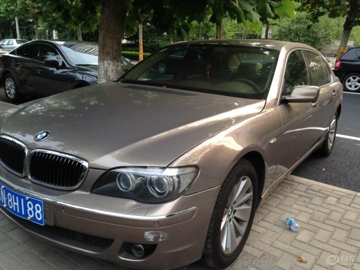 【我的宝马7系情结】偶遇BMW730LI分享大家!