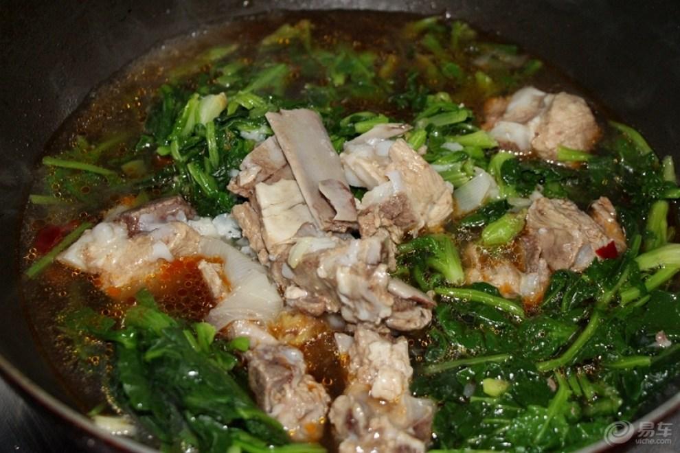 【【春季v排骨】又做苔菜炖排骨】_美食之旅论苏州华康肉制品有限公司图片