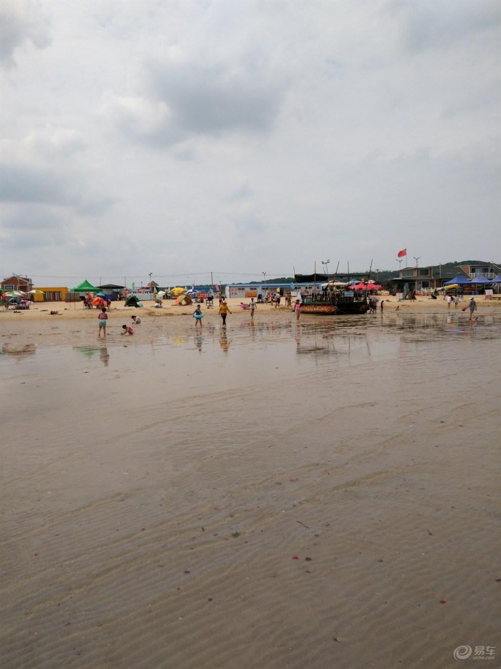18自驾烟台养马岛海水浴场