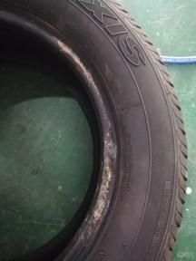 轮胎侧漏啊~~~原来是这个原因?!?