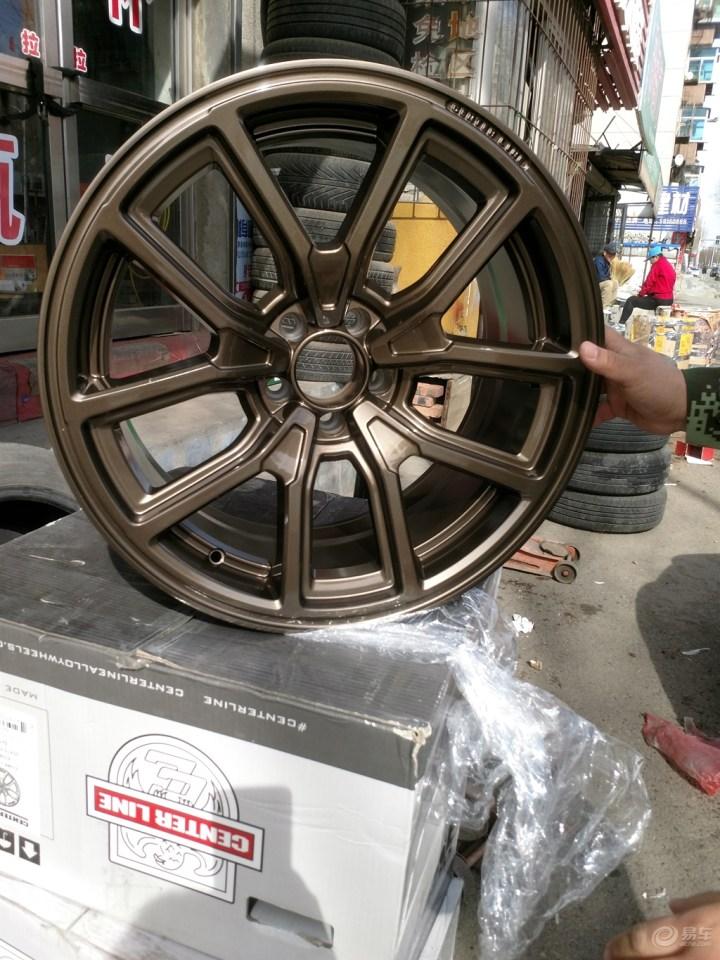 古铜色轮毂加身---300C轮毂升级改装后体会