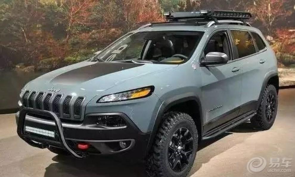 硬朗美系jeep自由光改装鉴赏 帅你一脸