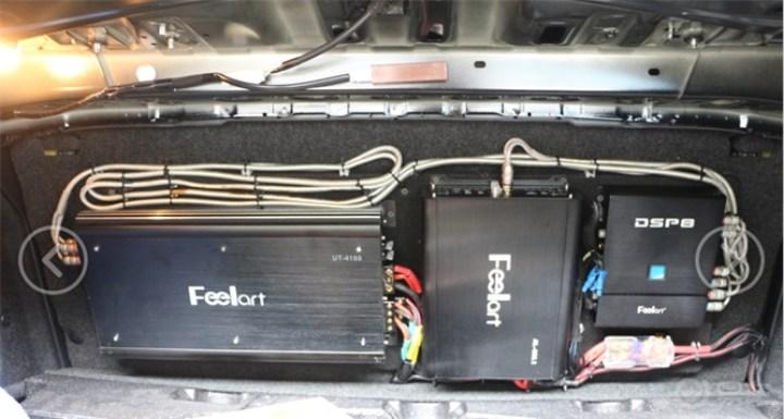 丰田86改装芬朗汽车音响——广州车元素