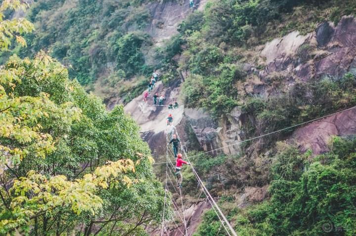 小六带我赏南岳红星村之美,体验绝壁飞舞