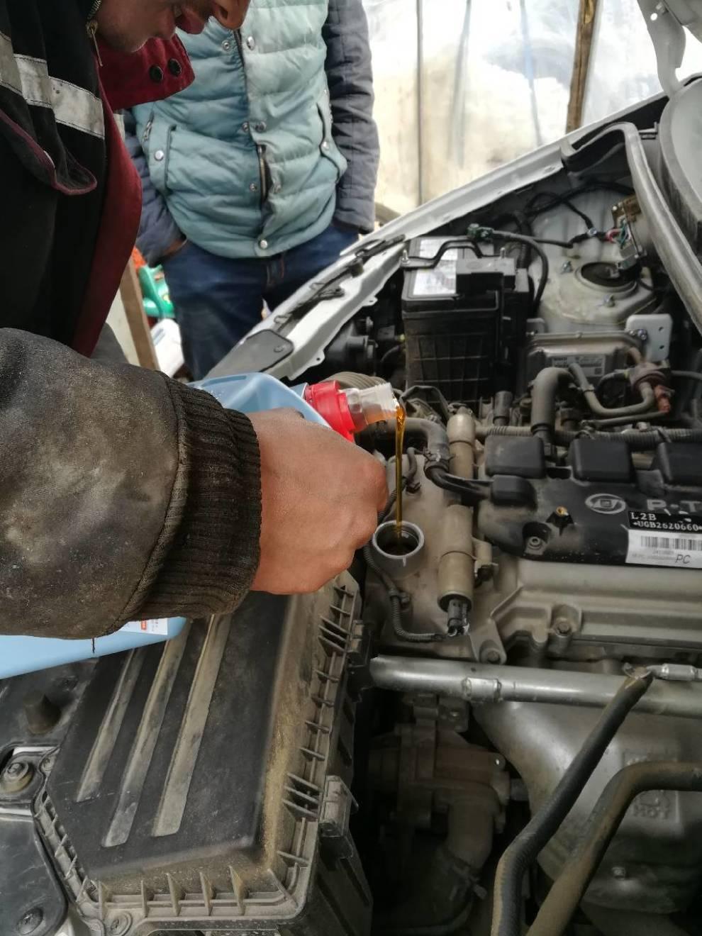 #易车众测#德国保菲机油(换油篇)