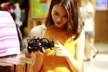#美女车模#网红女友VS缤智 模特与模型