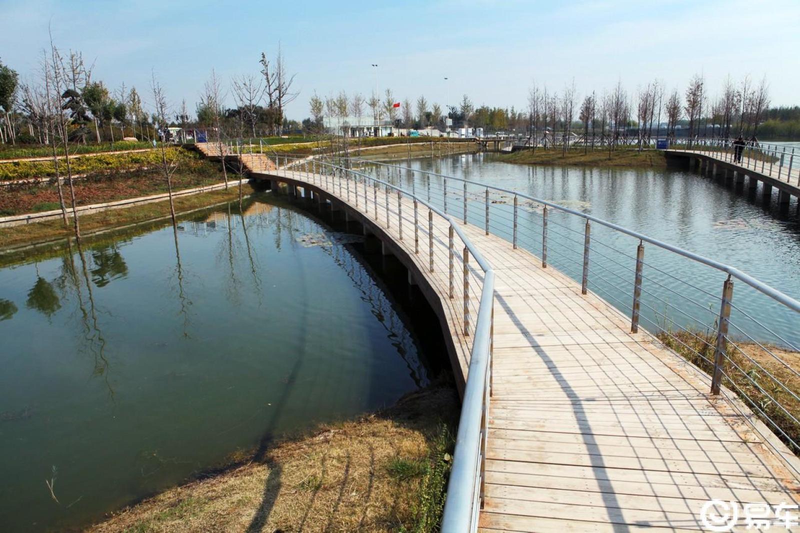 【中原金秋,易很精彩】昔日荒芜地,如今绿隐长堤锦绣运河