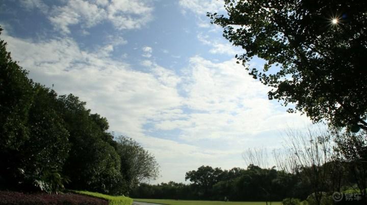 放松心情 訾洲公园游历一番