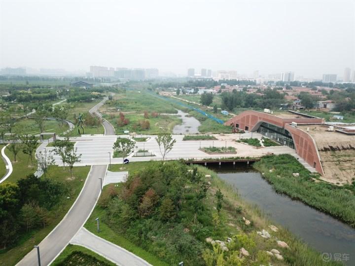植物园鸟瞰