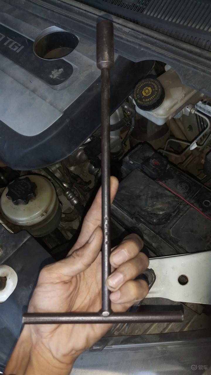 大通G10-更换离合器支架详细作业