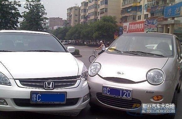 言简意赅 中国车vs日本车高清图片