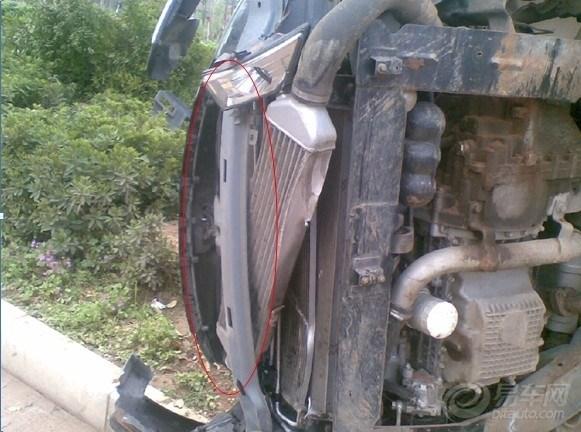 见证瑞麒g5辉煌车祸 确实nb,我信了高清图片