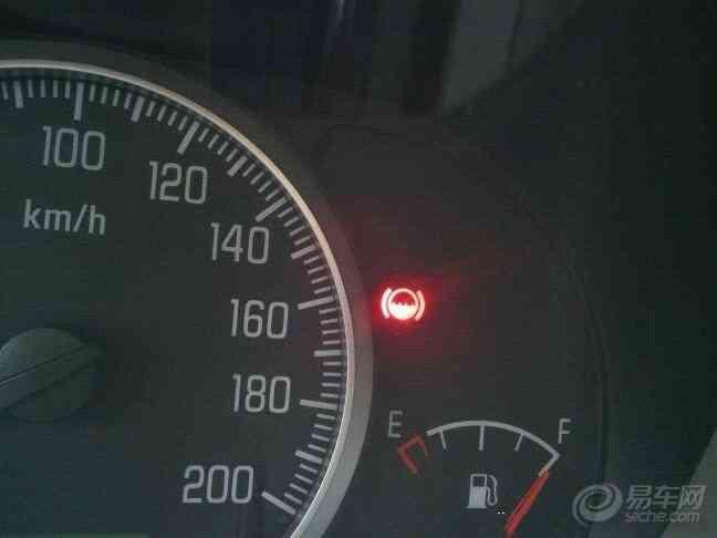 汽车仪表图解
