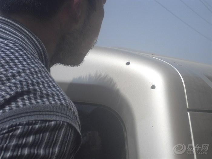 五菱荣光顶翼 定风翼,尾翼 带灯款abs烤漆尾翼 改装 银色,高清图片