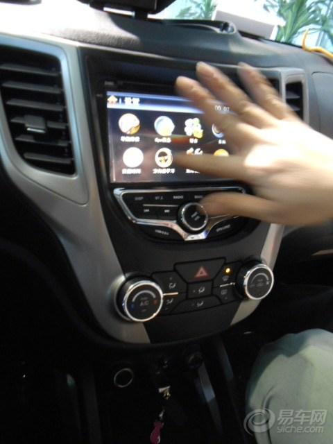 成就现实,白色CS35提车后安装踏板导航 请版主加精鼓励 -长安cs35高清图片