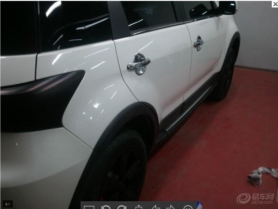 威海石头 汽车轮毂改色 后尾灯熏黑 需要大力支持哦高清图片