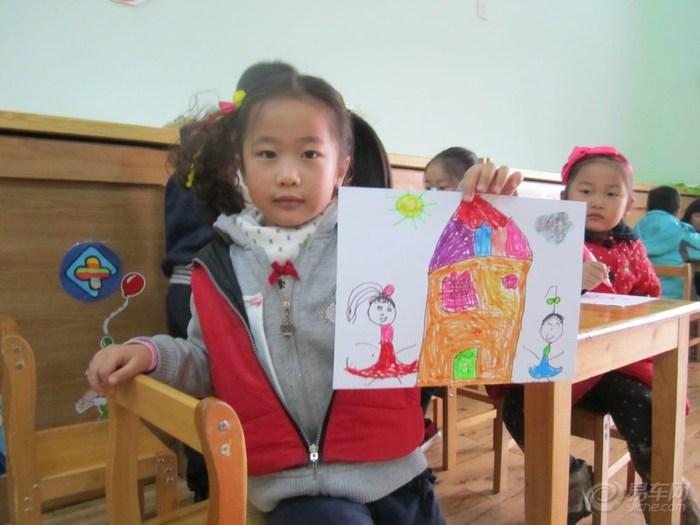 儿童画-种子粘贴画《大公鸡》-《少儿画苑》第