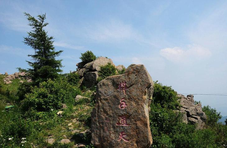 平泉辽河源风景区集高山,森林,草原,清泉,怪石为一体,大自然的鬼斧