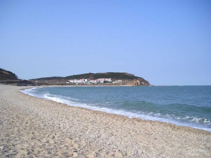 青岛第三海水浴场标志