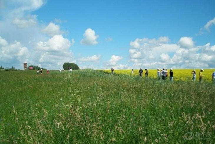 目的地介绍 五泉山自然风景区,位于内蒙古风光秀丽的呼伦贝尔大草原与