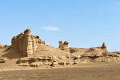 体验大漠净土荒凉的美-大海道魔鬼城