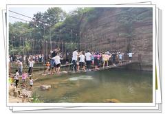 【中原精彩一夏】炎热酷暑  戏水洛阳龙潭峡