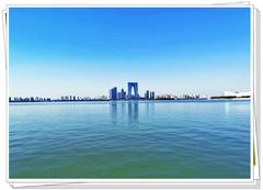 镶在苏州的一颗明珠——金鸡湖一日游