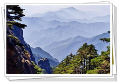 【说走就走的旅行2】黄山的路 黄山的松 黄山的蓝天和水墨画的山