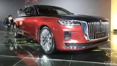 2021上海车展 红旗H9故宫艺术版,