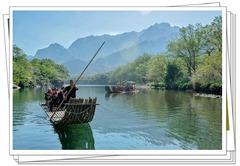 #我的踏青游玩报告#,速腾自驾,诗意楠溪江,山水画的摇篮。