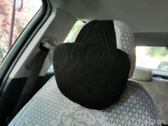 #爱车用品心愿单#迈巴赫生物绒枕给我奔驰级的奢华极夜黑的迈巴赫头枕,尽享奔驰